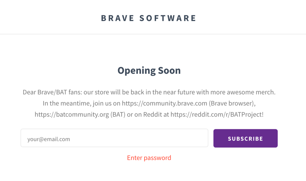 brave store